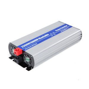 2500 Watt 24V DC to 110V 120V Modified Sine Wave Stackable Power Inverter