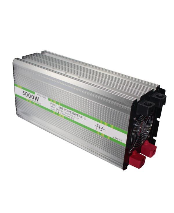 5000 Watt Pure Sine Power Inverter 12V to 110V 120V 5060 Hz Industrial Grade (2)