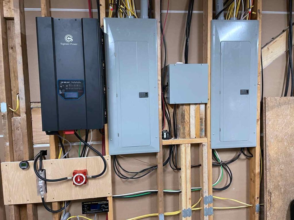 HP15048D Inverter installation